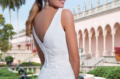 Vestidos de novia Sweetheart 2015: Modelos perfectos para las chicas más coquetas y fashionistas