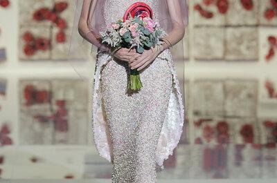 Vestidos de novia Jesús Peiró 2017: una colección de lo más dulce