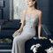 Hochzeitsgastkleid aus der Festmodenkollektion 2015 von Rosa Clará (8T279)