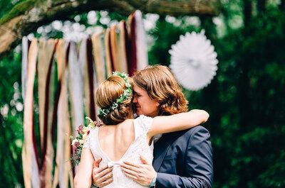 Cómo celebrar una boda hippie de lo más molona: 5 detalles que debes tener en cuenta