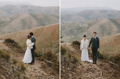 Northern Bay Heights: Frances + John´s Wedding in California