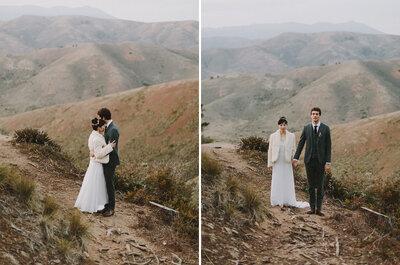 Northern Bay Heights: Frances + John´s Wedding in California