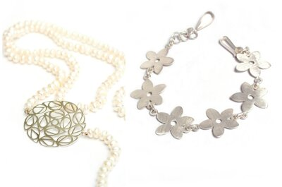 Lo mejor para las invitadas: luce espectacular con joyas florales