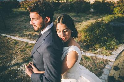 Comiéndote a besos: la boda de Anabel y Samuel