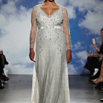 Long-Sleeved Spring and Summer Wedding Dresses 2015