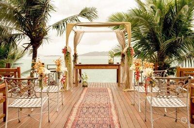 Casar em Geribá: arte, conforto e luxo em comunhão com a natureza!