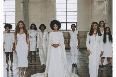 O casamento ultra-original e hipster da irmã da diva pop Beyoncé