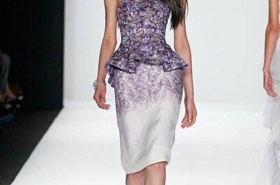 New York fashion week 2015: Badgley Mischka e il retrò ipercontemporaneo