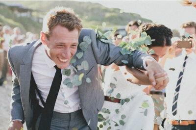 Ideas para lanzar a los recién casados después de la boda