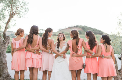 Damas de Honor: as 10 frases que a noiva certamente lhe vai dizer!
