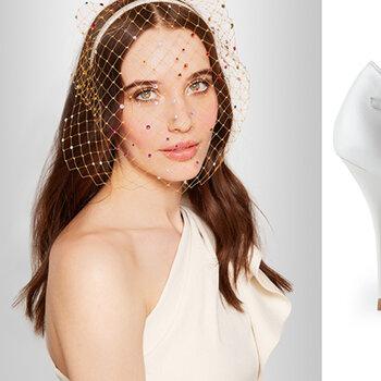 Apuesta por el estilo años 50 para tu vestido de novia y accesorios