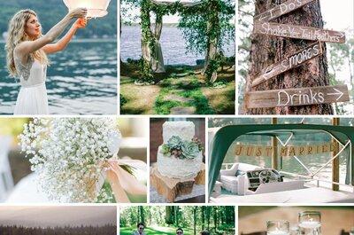 Por qué deberías tener tu boda en un lago: Lo mejor de la naturaleza ¡a tus pies!