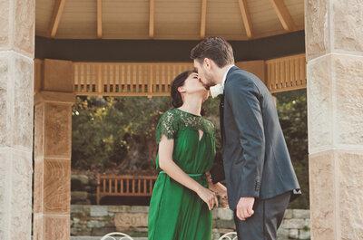 Emerald Wedding Dresses: A Wedding Dress Trend that Needs to Start