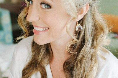 Bruidskapsels 2015 voor bruiden met krullend/golvend haar!
