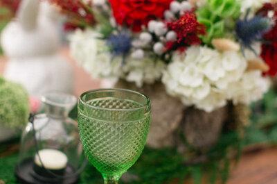 Decoración para bodas 2016 en color verde: Dale vida a tu gran día