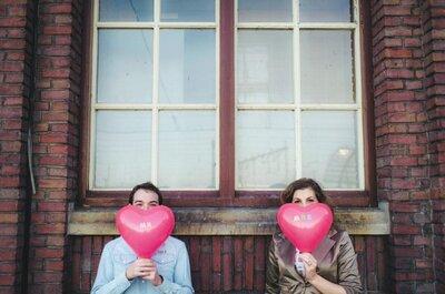 Una sesión de fotos llena de amor en Ámsterdam