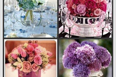 Ein etwas anderer Blumenschmuck für den Hochzeitstag!