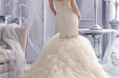 Collezione sposa Mori Lee 2015: l'indiscutibile romanticismo dei colori pastello