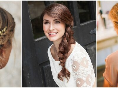 Penteados de noiva com tranças 2017: tendência que é sempre sucesso!