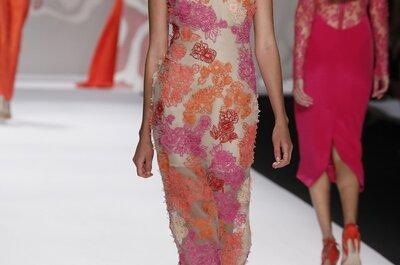 Monique Lhuillier: Vestidos de fiesta 2014 modernos