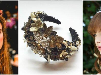 Ecco i 21 accessori per capelli ideali per le spose d'inverno