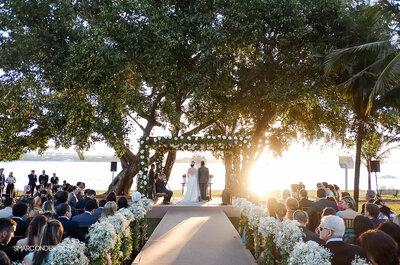 Casamento de Bárbara e Eduardo: celebração emocionante à beira do lago Paranoá em Brasília
