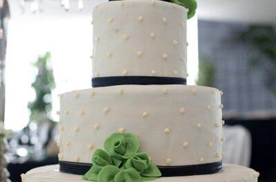 Muñecos de pajarillos para el pastel de boda