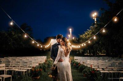 Amanda & Caio: Casamento DIY super charmoso ao ar livre!