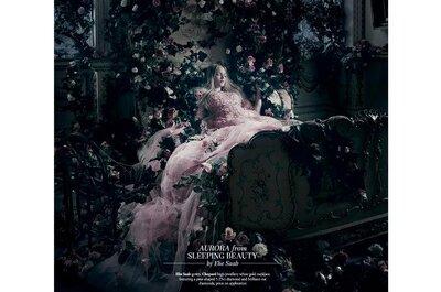 Vestido de novia Elie Saab inspirado en La bella durmiente