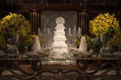 Luxo de Festa 2015 em Brasília traz tendências de casamento lindas e especiais