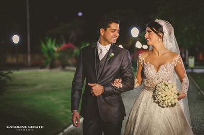 Anna & Dudu: casamento clássico com muito LUXO em Santa Catarina!