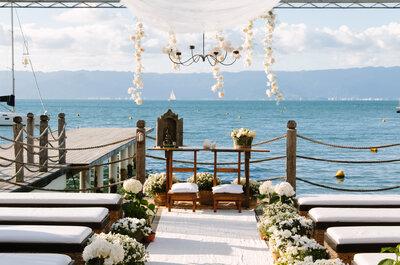 Locais para casamento em Ilhabela: confira os 6 mais requisitados!