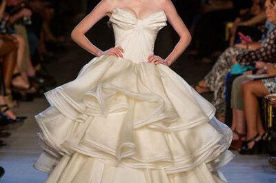 Em clima de verão: os vestidos de noiva mais marcantes coleções 2013