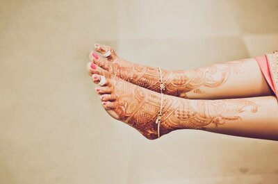 How to look breathtaking for your Mehndi ceremony
