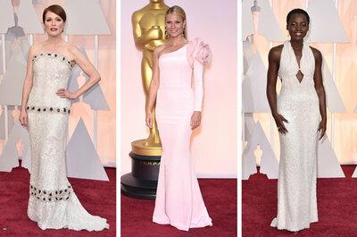 2015 Oscar Awards: Laat u inspireren met deze trouwjurken van de rode loper!