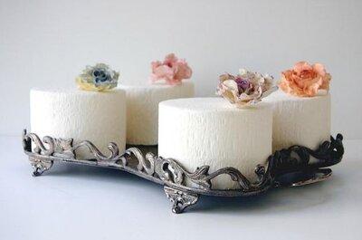 Ponqués elegantes para boda de Maggie Austin Cake
