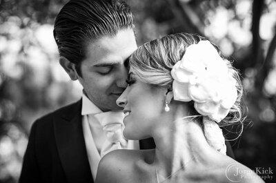 Una novia de ensueño y damas de boda multicolor: Así fue la exquisita boda de Ale y Luis