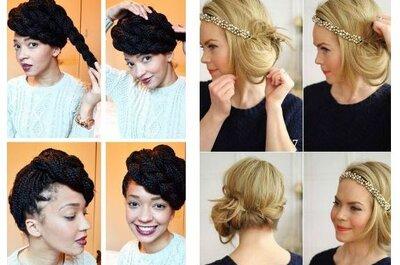 11 tutoriels pour inspirer votre coiffure de mariage en 2016 !