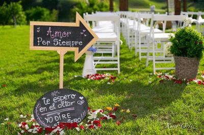 Una boda que nadie olvide: ¡gracias a la decoración y a la organización!