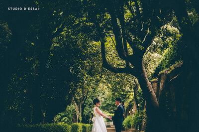'Less is more' è la filosofia di Studio d'Essai: album e video minimal ed eleganti per il vostro matrimonio