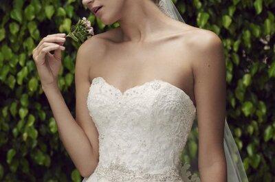 Disimula el abdomen gracias a tu vestido de novia. ¡Te damos los tips!