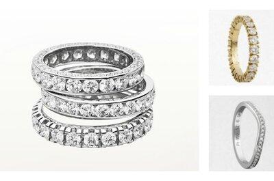 Per far brillare il tuo amore per sempre scegli una fede nuziale con diamanti!