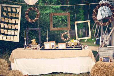 Decora tu boda con marcos y portarretratos: Las mejores ideas para ponerle un toque especial a tu día