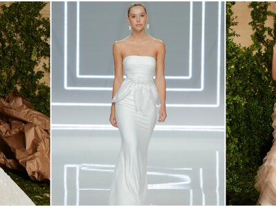 Vestidos de novia corte sirena 2017: 35 propuestas que te enamorarán
