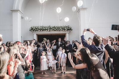 Los 8 momentos de la ceremonia religiosa que deberían quedar registrados en tus fotos de boda