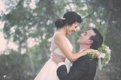 Cuando menos lo esperas: la boda de Estíbaliz y José Antonio