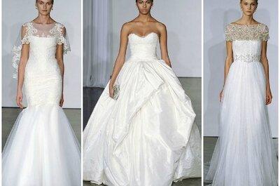 Marchesa Fall 2013 Bridal Collection, pizzo e tulle per la sposa romantica!