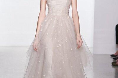 Aria di primavera per la collezione Christos 2015 alla New York Bridal Week