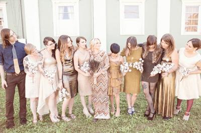 Real wedding: Colores, texturas y hermosos detalles vintage en una boda al aire libre... ¡Adiós, formalidad!