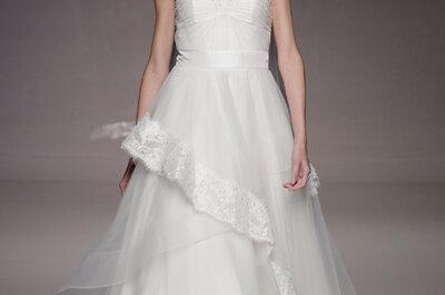 Fotos vestidos de noiva Anoushka G na White Gallery Londres